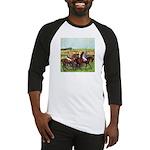 DEGAS' HORSES Baseball Jersey