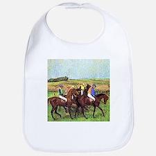 DEGAS' HORSES Bib