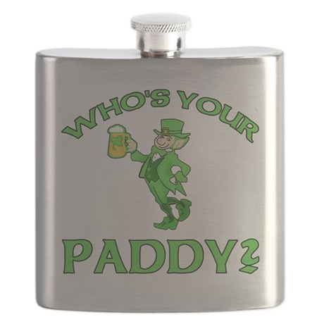 Leprechaun Who's Your Paddy Flask