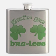 Erin Go Bra-less Flask
