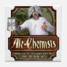 Ale-Chemists Tile Coaster