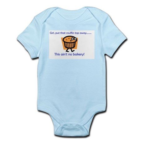 Muffin Top Infant Bodysuit