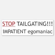 Tailgating Sticker (Bumper)