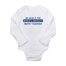 Math_Teacher Body Suit