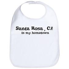 Santa Rosa - hometown Bib
