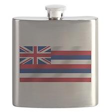 Hawaii State Flag Flask