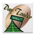Day Trader Tile Coaster