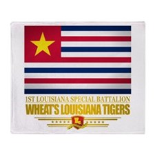 Wheats Louisiana Tigers Throw Blanket
