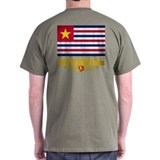 Wheats louisiana tigers flag Mens Classic Dark T-Shirts