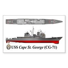 USS Cape St. George CG-71 Decal