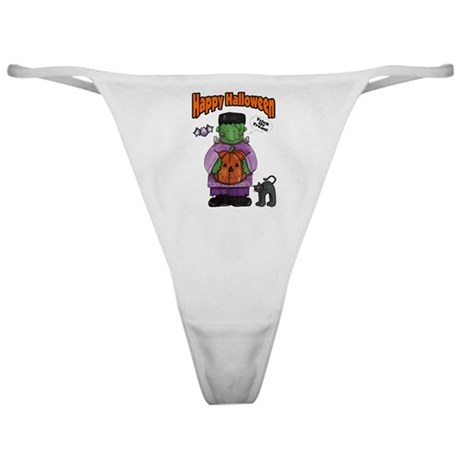 Frankenstein Trick or Treater Classic Thong