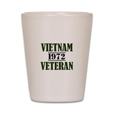 VIETNAM VETERAN 72 Shot Glass