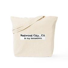 Redwood City - hometown Tote Bag