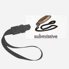 submissive.png Luggage Tag