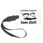 undercover-cam-girl.png Large Luggage Tag