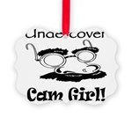 undercover-cam-girl.png Picture Ornament