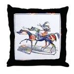 DUTCHESS OF SORREL Throw Pillow