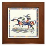 DUTCHESS OF SORREL Framed Tile