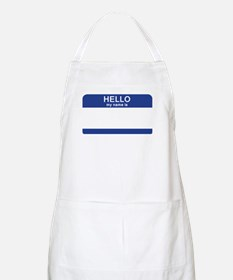 Hello my name is Blank Apron