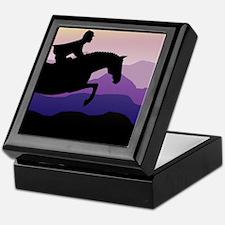 Funny Horse lovers Keepsake Box