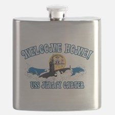 Welcome USS Carter! Flask