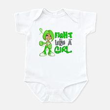Licensed Fight Like a Girl 42.8 NH Infant Bodysuit
