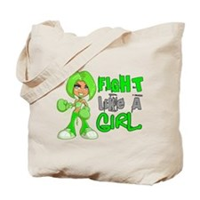 Licensed Fight Like a Girl 42.8 NH Lympho Tote Bag