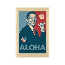 Obama Aloha Rectangle Magnet
