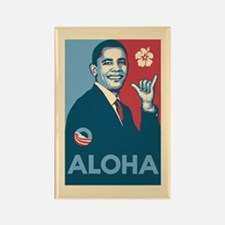 Obama Aloha Rectangle Magnet