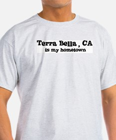 Terra Bella - hometown Ash Grey T-Shirt