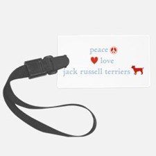 PeaceLoveJackRussellTerriers.png Luggage Tag