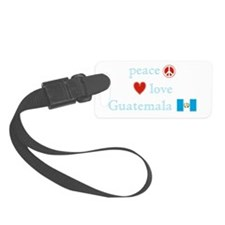 PeaceLoveGuatemala.png Luggage Tag