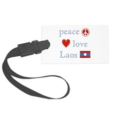 PeaceLoveLaos.png Luggage Tag