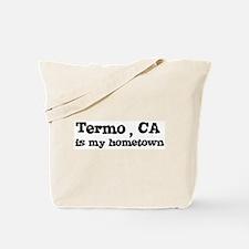Termo - hometown Tote Bag