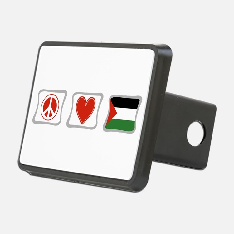 PeaceLovePalestineSquares.png Hitch Cover