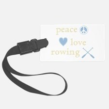 PeaceLoveRowing.png Luggage Tag