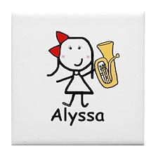 Baritone - Alyssa Tile Coaster