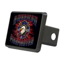 American Firefighter Lightning Hitch Cover