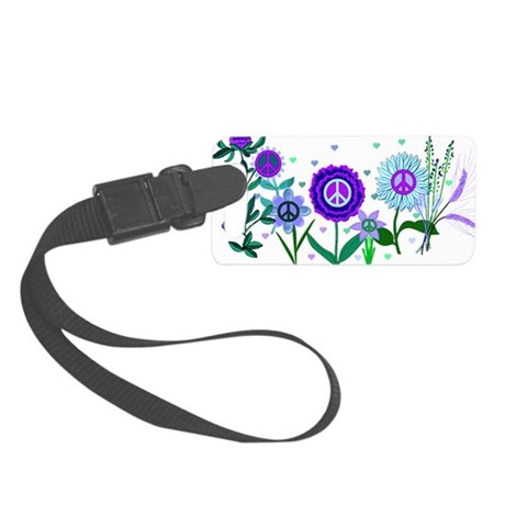 Growing Peace Small Luggage Tag