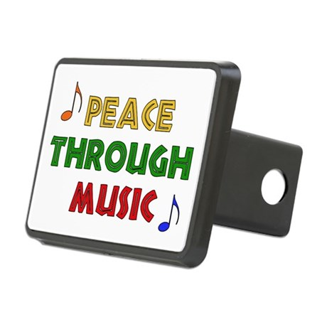 musicpeace01.png Rectangular Hitch Cover