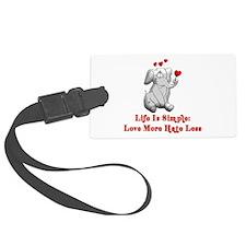 peace_elephant01.png Luggage Tag