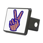 peacefingers01.png Rectangular Hitch Cover