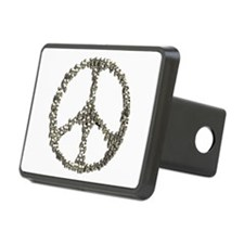 Skulls Peace Sign Hitch Cover