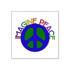 "imagine01.png Square Sticker 3"" x 3"""