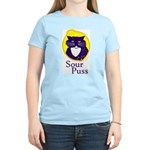 Funny Sour Puss Cat Women's Light T-Shirt