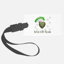 Nature Is My Religion Luggage Tag