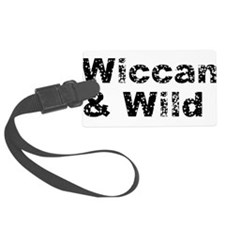 wild_wiccan01.png Luggage Tag