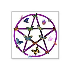 "wiccan01.png Square Sticker 3"" x 3"""