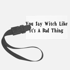 good_witch02.png Luggage Tag