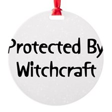 witchcraft011.png Round Ornament